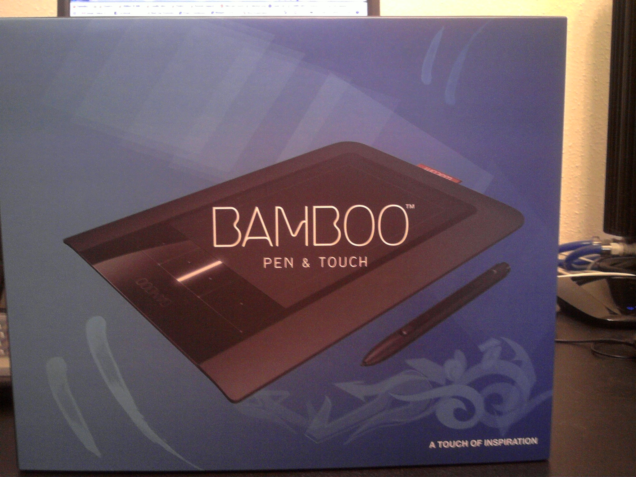 Wacom Bamboo Tablet and Pen